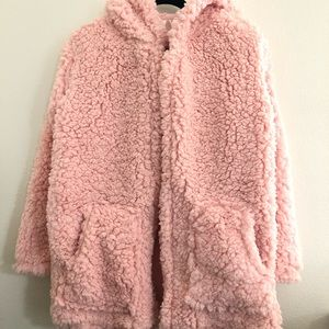 Nordstrom BP Cozy cloud hoodie S/M seashell pink